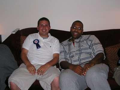 Sept. 2004 Dan and Daniel