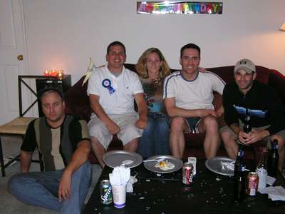 Sept. 2004 Michael, Dan, Jen, Brennan, and Stu