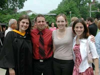 May 2004 Jess' graduation from UMD (Jess, Dan, me, and Elisa)