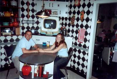 Sept. 14, 2004 Dan and I had lunch at MGM's 50s Prime Time Cafe