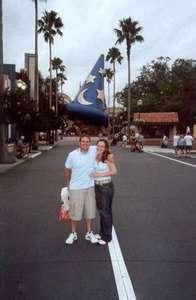 Dan and I at MGM