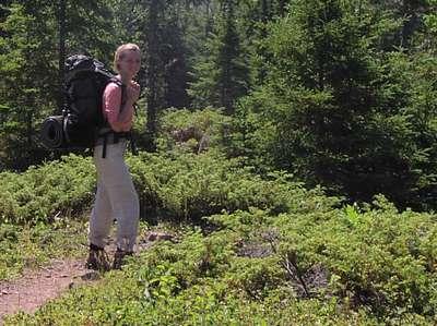 Backpacking on Isle Royale, MI