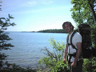 Backpacking on Isle Royale, MI