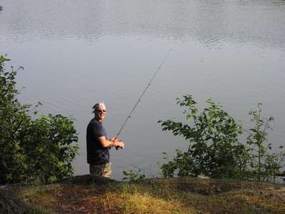 Catching NO Fish in Paradise, MI