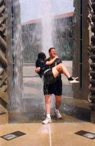 We even took a dip in the Purdue Engineering Fountain