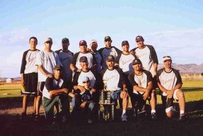 Softball Champs!!  O.D. Espinoza  sons