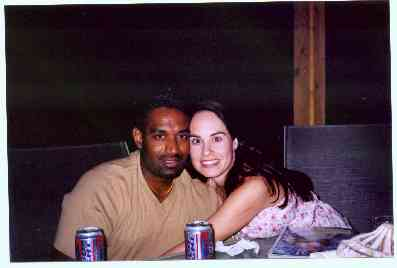 Rikkele and Ben in Albuquerque July 2002