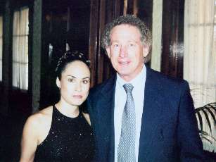 The bride and her dad - June 2001