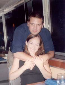 July 2002 On the dinner cruise (photo courtesy of another couple)