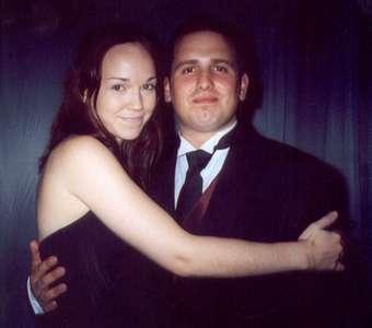 September 2002 Me and Dan at Robin's wedding