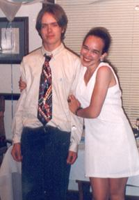 June 1996 Curt with me after my high school graduation.