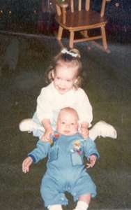 1980 Steph and Curt