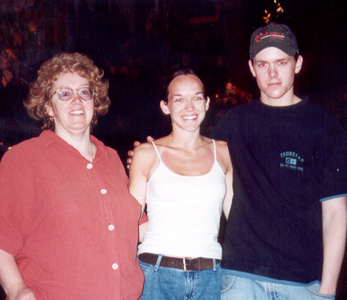 May 2001 Mom, Steph, and Curt in Las Vegas, NV