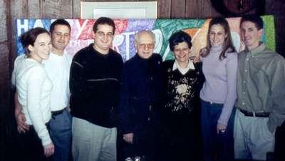January 2002 Me, Dan, Adam, Pop, Tema, Allison, and Jason