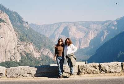 Just inside Yosemite - surreal