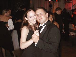 September 2002 More dancing at Robin's wedding