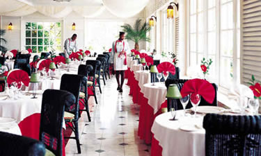 International Restaurant where we enjoyed many evening meals (phenomenal lobster)!