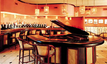Piano Bar where we hung out w/the group or listened to Greg and Travis tickle the ivory.