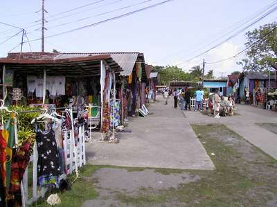 Another picture of the craft market we stopped at.