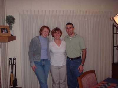 This was taken the night of our engagement. Right after we got back from San Antonio on January 1, 2002