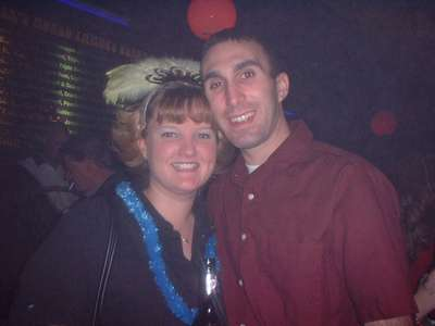 Dave and I celebrating the new year in San Antonio.