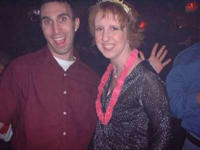 Dave and Julie (Maid of honor) dancin the new year away in San Antonio.
