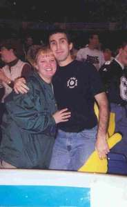 Dave and Alyson at the Alamo bowl in 98 when Purdue played Kansas state.