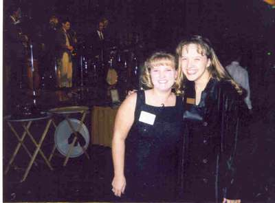 Niki and I at the 75th anniversary banquet of the organization we were involved in. (October 98)