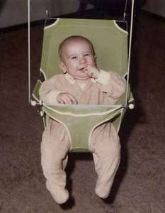 Mike in his swing