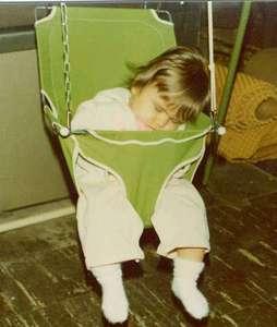 Moe in her swing