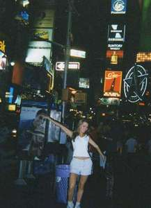 Moe in Times Square
