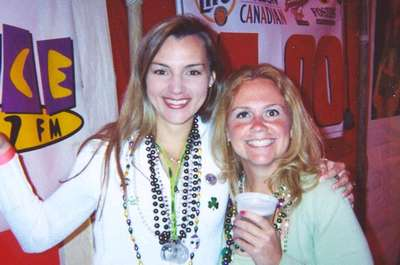 Katie and I at the Old Shillelagh 2002.