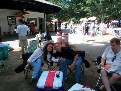 At the Track Saratoga 2001