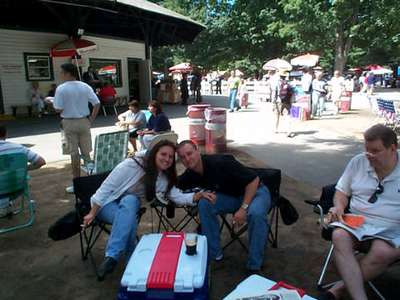 At the Track