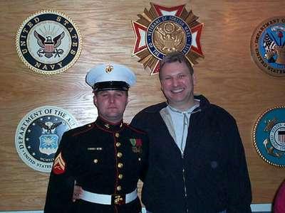 Mike  Dad Memorial Day 2001