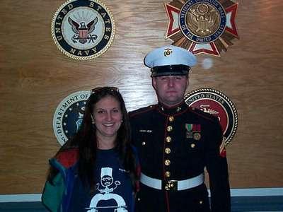 Mike  Jen Memorial Day 2001