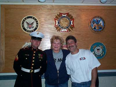 Mike, Kelly  Joel Memorial Day 2001
