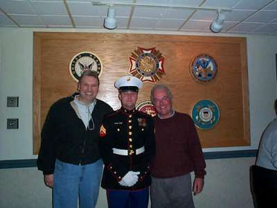 Mike, Dad  Tommy Memorial Day 2001