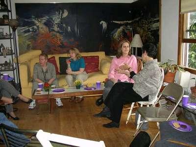 My Mom, Becky, Allison, and Tema