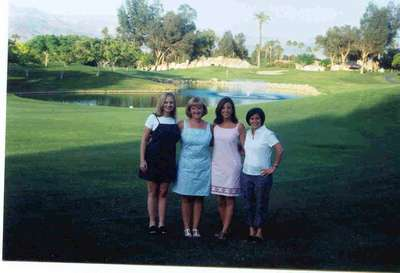 Check us out!!! Jessica, Shannon, Marcie and I on our last night at the condo in CA.