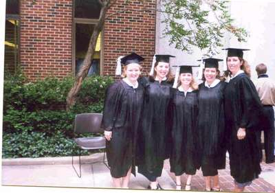 Way to go!!!! My undergraduate study group posing for pictures at graduation from Purdue.