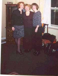 Me and the Johnson girls on New Years Eve in Milwaukee, WI.  We are just too cute.